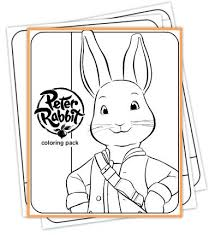 rabbits coloring pages peter rabbit coloring pack coloring pages book characters