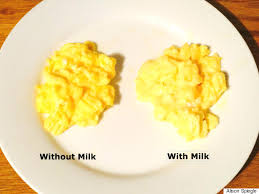 How To Make Really Good Scrambled Eggs Why Adding Milk To Your Scrambled Eggs Is A Mistake Huffpost