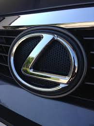 lexus f emblem replaced front and rear emblems