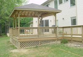 pergola ideas deck furniture sweet dark wood pergola roof gray