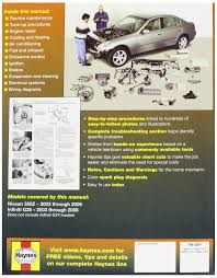 automotive repair manual for nissan 350z and infiniti g35 u002703