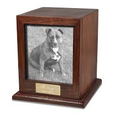 dog urns photo wood pet urn memorial gallery pets