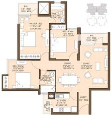 1400 Sq Ft 1400 Sq Ft 3 Bhk 2t Apartment For Sale In Omaxe Palm Greens Mu