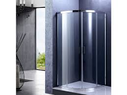 Curved Shower Doors Tech Curved Shower Enclosure With Corner Entry Door