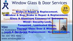 Window Repair Ontario Ca J U0026r Window Glass U0026 Door Services Youtube