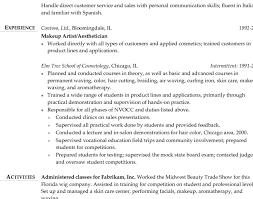 resume skills communication cosmetology resume skills cosmetology resume templates fashion
