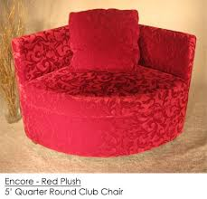 Red Club Chair Encore Red Plush Club Chair Town U0026 Country Event Rentals