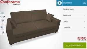 conforama canap soflit conforama lance confo 3d avec 3dswipe