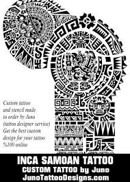 inca tattoo samoan tattoo aztec tattoo polynesian tattoo