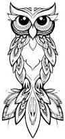 coco illustration u0026 design tribal owl u2026 owl pinterest owl