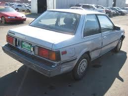 nissan sentra junk parts 1986 nissan sentra parts car stk r8881 autogator sacramento ca