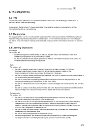 Cosmetology Resume Examples Beginners by Curriculum International Sales And Marketing Marketing Study Star U2026