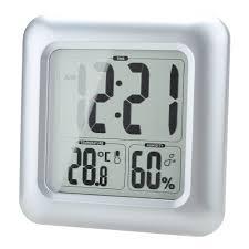 amazon com baldr bathroom clock lcd waterproof shower home u0026 kitchen