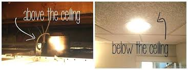 Suspended Ceiling Recessed Lights Recessed Lighting Drop Ceiling Restoreyourhealth Club
