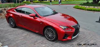 red lexus 2015 lexus rc f in red at pebble beach 62
