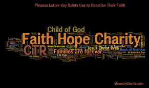 phrases used by latter day saints to describe their faith