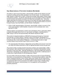 Sterile Processing Resume Terrorism Report 2006 Pdf U2014 Fbi