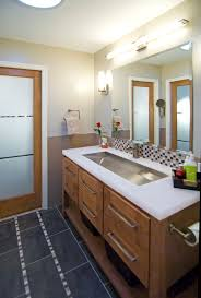 glorious bathroom lighting above mirror bathroom contemporary with