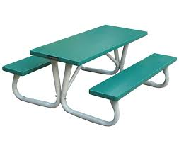 6 u0027 aluminum folding kid u0027s picnic table