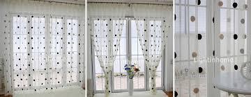 Black Polka Dot Curtains White Polka Dot Curtains