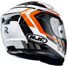 hjc motocross helmets hjc rpha10 plus cyper orange full face motorcycle helmet acu race