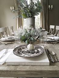 styling a fall table my 100 year old home