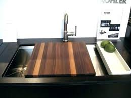 kohler purist kitchen faucet kohler sink with cutting board stages sink stages sinks stages