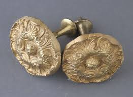 Drapery Knobs Antique Curtain Hardware