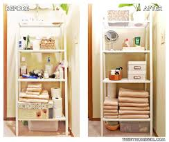 Storage Ideas For Small Bathrooms With No Cabinets by The Linen Closet Is In The Middle Of The House And Beside The Hall