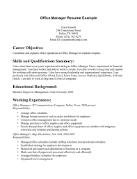 career summary statement exles accounting software resume managementective retail manager professional summary job