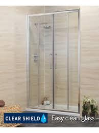revive 1400 double sliding shower door adjustment 1340 1400mm