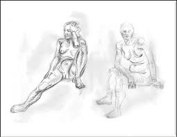 life drawing animal sketches and other ideas