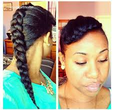simple hairstyles for relaxed hair pictures on natural hairstyles for relaxed hair cute hairstyles