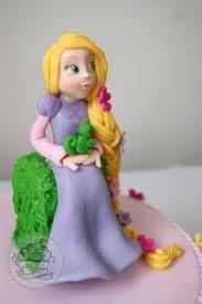 tangled cake topper tangled cake with edible cake topper bolo enrolados topo de