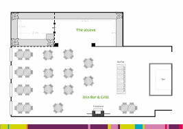 albany function venue ibis bar grill ibis bar and grill and alcove floor plan with dimensions no logo