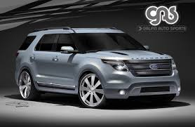2011 Ford Edge Limited Reviews Customized 2011 Explorers And Other Ford Models Teased Ahead Of