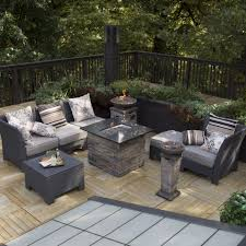 Patio Furniture Sets With Fire Pit by Have To Have It Coral Coast Fiji Isle All Weather Wicker