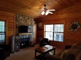 romantic log cabin at cabins of grand mount vrbo