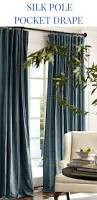 To Make End Decorative Traverse by Best 25 Natural Curtain Poles Ideas On Pinterest Branch Curtain