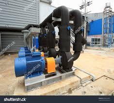 chiller water pump chiller water pump stock photo 286578365