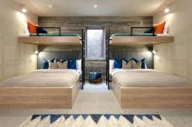 3 Person Bunk Bed Bunk Beds For 3 Interior Design Ideas For Sleeping Six