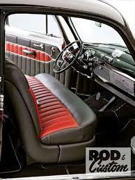 Antique Auto Upholstery Terry Hegman 1951 Mercury Interior