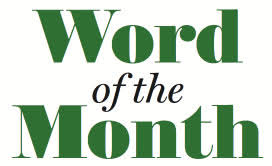 of the month word of the month crux
