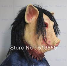 Horror Movie Halloween Masks Mask Saw Picture More Detailed Picture About Pig Economy Mask