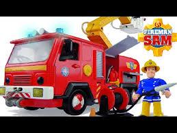 fireman sam deluxe simba jupiter fire truck fireman sam toys