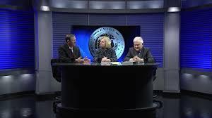 News Studio Desk by Broadcast And Tv Set Design U2013 Gelbach Designs Inc