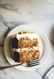 cardamom u0026 pistachio carrot cake orange blossom u0026 honey labneh