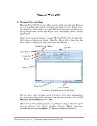 membuat novel di ms word microsoft office word 2007