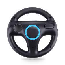 wii volante juego accesorios kart racing controller mini volante para