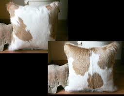 Cowhide Pillows Cowhide Pillows Beautiful Cowhide Pillows For Living Room And